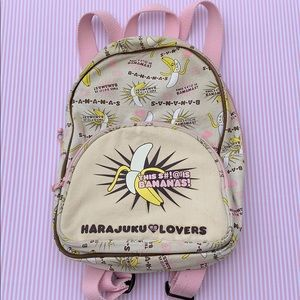 Harajuku Lovers Bananas Backpack